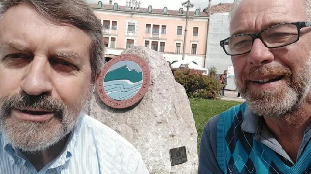 Marco Perale e Angelo Paganin